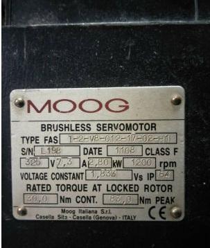 穆格伺服电机轴电流故障简单易懂