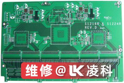 西门子电路板中晶体管组件损坏维修