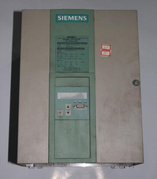 西门子直流调速器发生故障是常见的维修问题