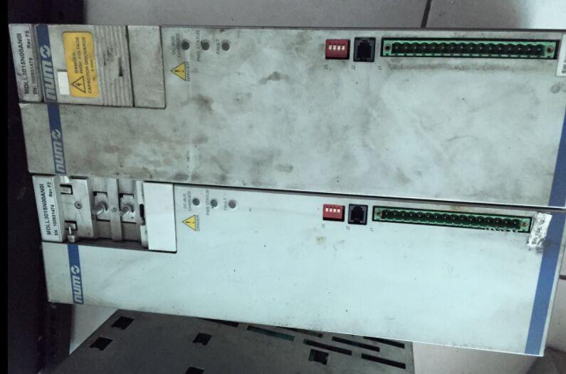 NUM数控系统维修常见问题及调试过程