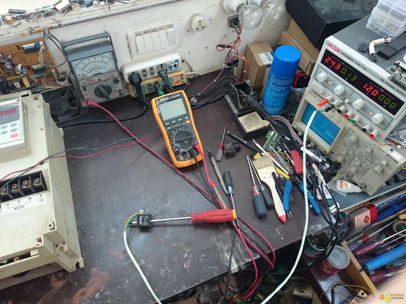 G.E变频器模块温度过高频繁故障维修经验