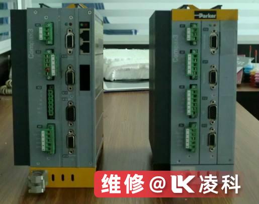派克伺服驱动器测量系统故障维修