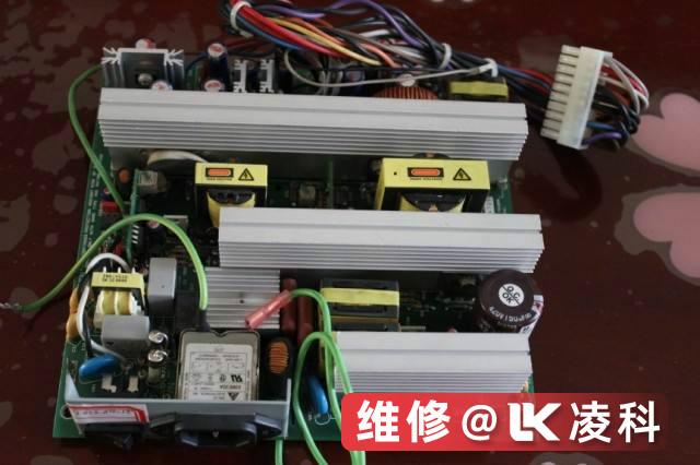 FANUC数控车床电源模块报警维修