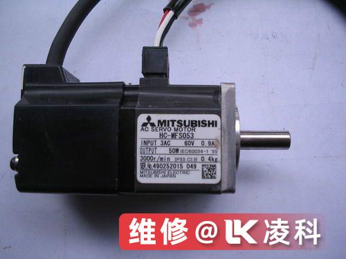 三菱伺服电机无反应故障恢复方法