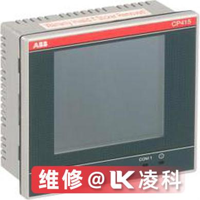 ABB触摸屏图像有干扰纹维修操作