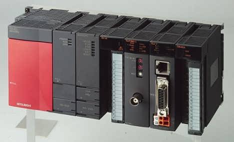 三菱PLC上电没有反应灯也不亮维修